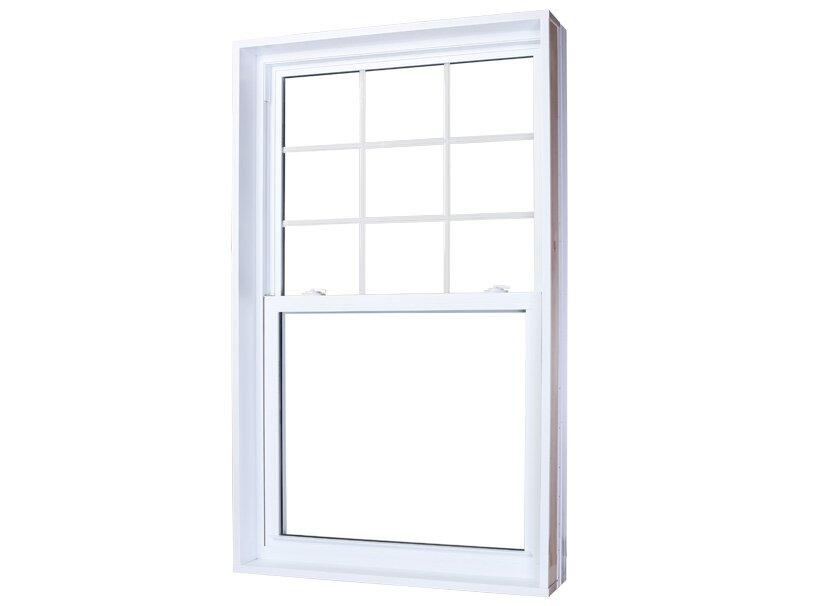 Vaillancourt portes et fenêtres offre la fenêtre à guillotine simple ou double